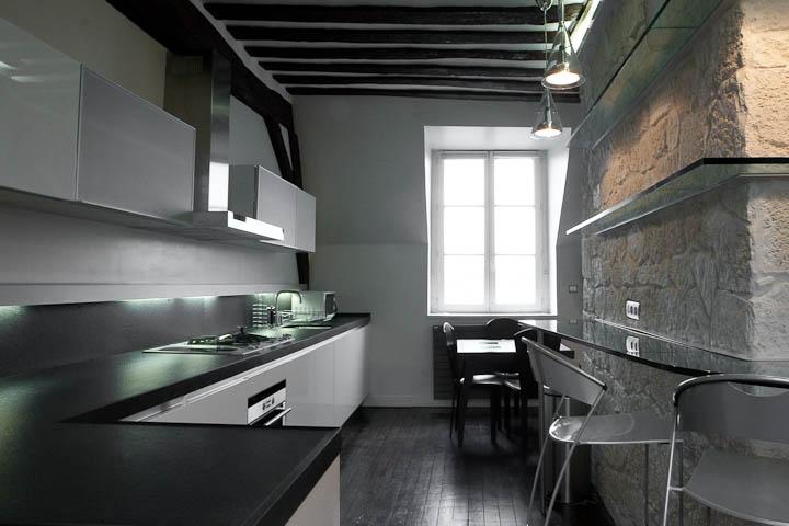 Appartement contemporain paris le saint louis luciano abbaterusso - Appartement contemporain kiev ...